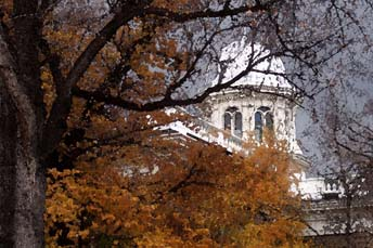 Capitol Dome in the Fall